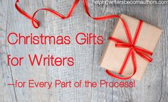 Why not grab (or ask for) a gift to help your favorite writer ace every part of the writing process? Christmas gifts for writers!