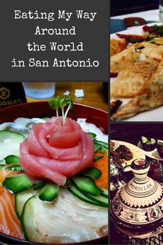 Best Ethnic Restaurants in San Antonio! Try new ethnic restaurants in San Antonio and travel the world with your tastebuds.