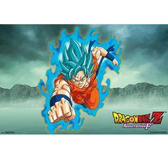 Dragonball Z Poster Goku Jump Resurrection F. Hier bei www.closeup.de