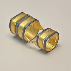 JEWELRY :: Rings :: Sarina,silver 925, gold plated integral ring - Most Chic