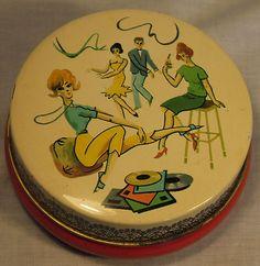 Riley's Vintage Toffee Tin