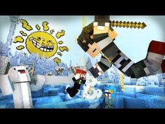 Minecraft Mini-Game : WINTER MELTDOWN! /w Facecam - YouTube