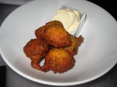 Hush puppies from Dirt Candy