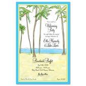 Tropical & Beach Invitations, Inspired Beach View, 15866
