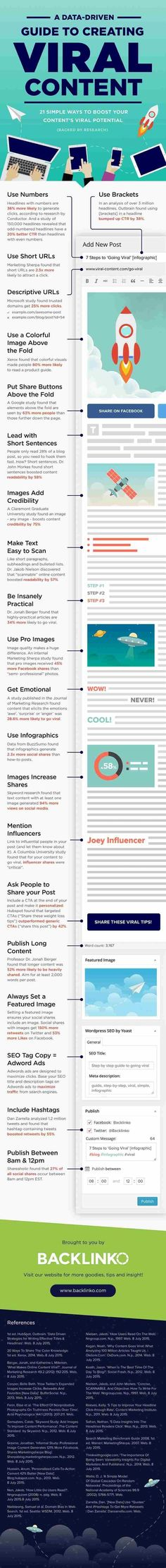 Social media infographic and charts How to Create Viral Content People Love to Share Infographic Description Content marketing tips: Dreaming of viral Marketing Viral, Inbound Marketing, Affiliate Marketing, Marketing Mail, Marketing Trends, Marketing Services, Content Marketing Strategy, Business Marketing, Internet Marketing