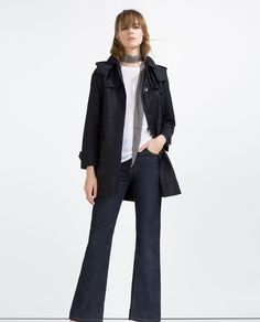 ZARA - WOMAN - WATER REPELLENT TRENCH COAT