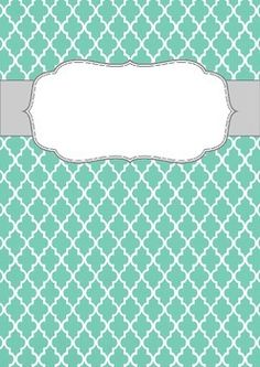 binder cover templates free blank