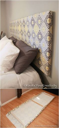 DIY Headboards - 40 Cheap and Easy DIY Headboard Ideas - I Heart Crafty
