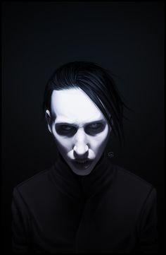 Marilyn Manson by =TovMauzer
