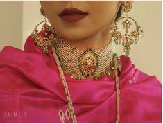 Rajput Jewellery, Mughal Jewelry, India Jewelry, Bridal Jewellery, Royal Jewelry, Gold Jewelry, Jewelery, Indian Jewellery Design, Jewellery Designs