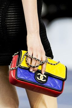 brides of adelaide magazine - primary colours - chanel clutch