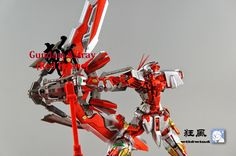 MG 1/100 Gundam Astray Red Frame Kai - Painted Build     Modeled by  狂风wildwind