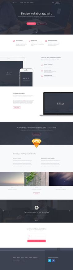 246 best HTML template images on Pinterest | Design web, Ui ux and ...