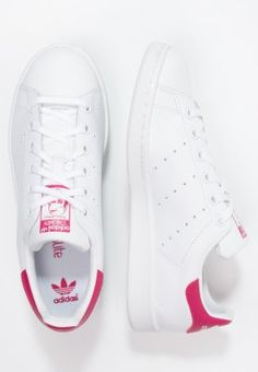 adidas Originals STAN SMITH - Baskets basses - white/bold pink - ZALANDO.FR