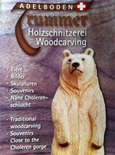 Die Holzschnitzerei Trummer besteht seit 1945.