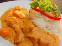 Sweet Potato Chicken Curry from eat street