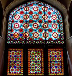 Do a stained glass project where students have to make their own stained glass style window using collage pieces from magazine and black paper.  Stained glass Photo From Sahand Ace. - Stained glass - Wikipedia, the free encyclopedia