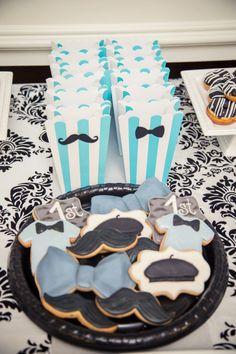 Boys Parisian Themed Birthday Party Food Cookie Ideas