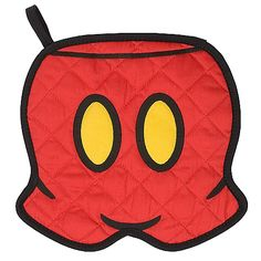 Best of Mickey Mouse Potholder -- Shorts $12.95 and you can also get them personalized!