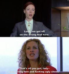 Erin Brockovich! A great insult! (: