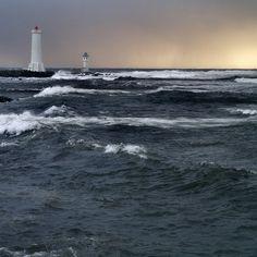 Lighthouses by Atli Harðarson, via Flickr