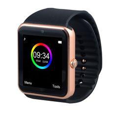 Freies ePacket Smart Uhr GT08 Uhr Sync Notifier Unterstützung Sim-karte Bluetooth Schließen Apple Android Telefon Smartwatch Russische T30 //Price: $US $26.99 & FREE Shipping //     #clknetwork