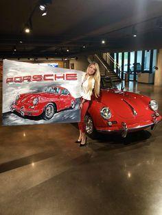 Delivery at HQ of Porsche Cars North America