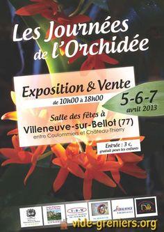 Les Journées de l'Orchidée à Villeneuve-sur-Bellot (77) http://www.pariscotejardin.fr/2013/04/les-journees-de-l-orchidee-a-villeneuve-sur-bellot-77/