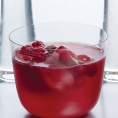 A big bowl of ruby red punch is just the thing to set the mood at any holiday…