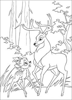 Bambi Coloring Page 42 Is A From BookLet Your Children Express Their Imagination When They Color The