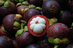 Mangosteen is my favorite fruit!  Tastes like no other fruit I've ever eaten.    ate for the first time when living in Singapore,,,,,the mangosteen is delicious!