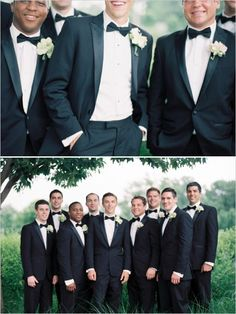 10 Ways to Style Your Groom Vintage - Bow Ties
