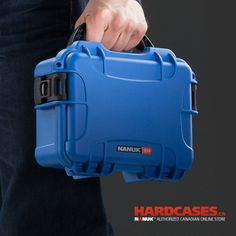 Nanuk 903 is the mini case of the collection. Use it for small hard drives or to protect a phone on your next gig!