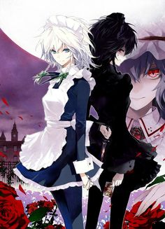 anime runaway maidens names kata, chula, & vella. All 16 and powers of death  invisibility and healing