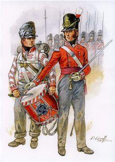 British Army Uniform, British Uniforms, Waterloo 1815, Battle Of Waterloo, Uniform Insignia, Empire, War Of 1812, Napoleonic Wars, Modern Warfare