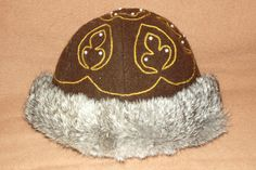 Birka wool cap.  Instructions. This hat is completely fur lined, covers the ears and can be decorated in a variety of ways. Difficulty: Medium-Hard. Total Time: 6 Hours non decorated (40-50 hours decorated)