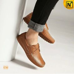Fashion Driving Loafers for Men CW740106 $128.89 - www.cwmalls.com