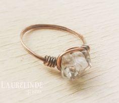 Bergkristal ring