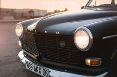 Stance Works - Keith Ross's Slammed 1966 Volvo Amazon 122
