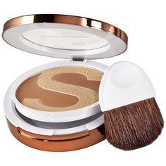 Sonia Kashuk® Bare Minimum Pressed Powder Bronzer 48 ($9.99) ❤ liked on Polyvore