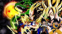 Goku Vs Vegeta Wallpaper.