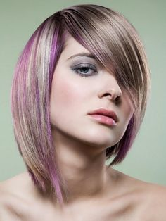 Modern Hairstyle Highlights Daily Fashion Design modern hairstyles   hairstyles