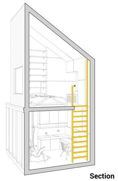 House Plant Maintenance Tips A Modern Winter Shelter By Architecture 11 Grand Chalet, Plans Architecture, Compact House, Tiny House Cabin, Small Buildings, Small House Design, Small House Plans, Shelter, Floor Plans