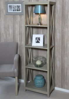 Free delivery over to most of the UK ✓ Great Selection ✓ Excellent customer service ✓ Find everything for a beautiful home Shelving, Beautiful Homes, Bookcase, The Unit, House Design, Living Room, Criss Cross, Wood, Mango
