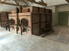 Cremation chambers for the corpses of Dachau
