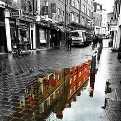 Soho offers endless photo opportunities (even in the rain)