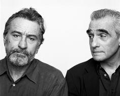 Robert DeNiro and Martin Scorsese by Brigitte Lacombe