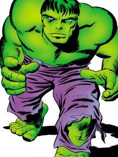 Hulk by Jack Kirby Comic Book Artists, Comic Book Characters, Marvel Characters, Comic Artist, Comic Books Art, Marvel Comics Superheroes, Dc Comics Art, Marvel Heroes, Hulk Comic