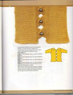 领口 袖口 扣子装饰----整书附有图解
