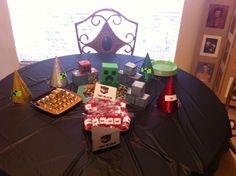 12 Minecraft Birthday Party Ideas Minecraft Birthday Party Minecraft Birthday Birthday Party